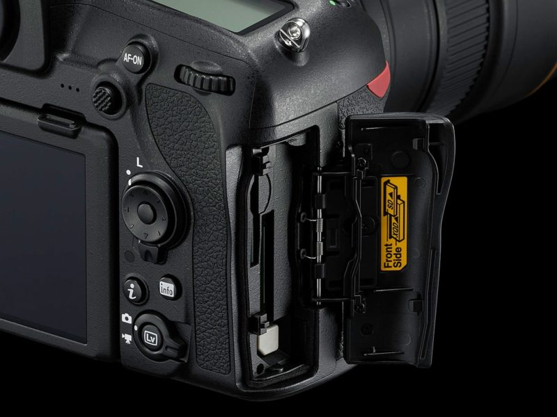 Nikon D850 (Memory Slot), Image Credit: Nikon