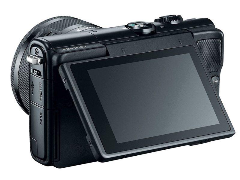 Kamera Canon EOS M100 (LCD), Image Credit: Canon