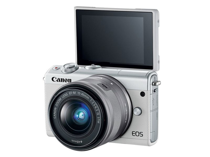 Kamera Canon EOS M100 (Selfie), Image Credit: Canon