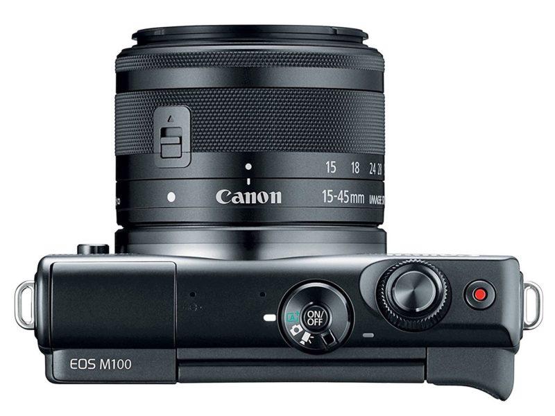 Kamera Canon EOS M100 (Atas), Image Credit: Canon