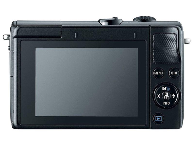 Kamera Canon EOS M100 (Belakang), Image Credit: Canon
