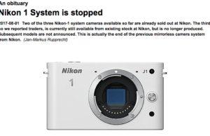 Nikon Stop Nikon 1