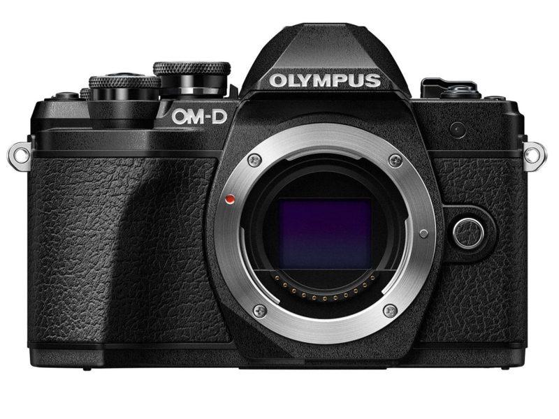 Kamera Olympus E-M10 Mark III (Depan), Image Credit : Olympus