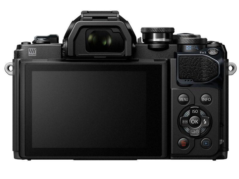 Kamera Olympus E-M10 Mark III (Belakang), Image Credit : Olympus