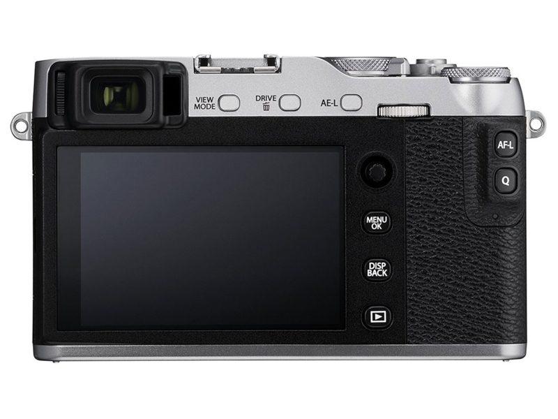 Kamera Terbaru Fujifilm X-E3 (Belakang), Image Credit: Fujififlm