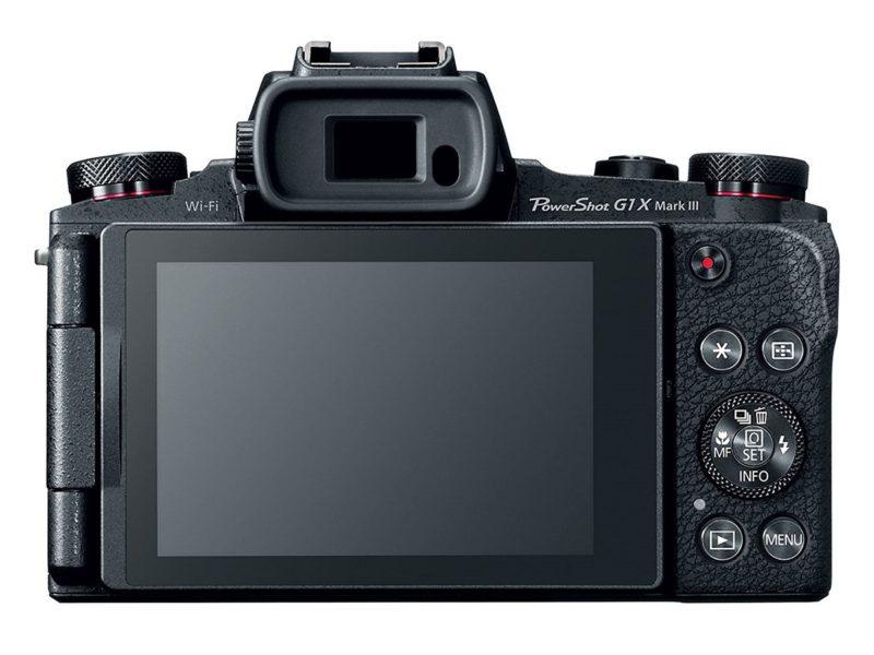 Canon Powershot G1 X Mark III (Belakang), Image Credit: Canon