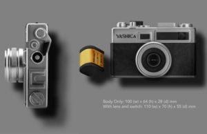 Kamera Yashica Y35 digiFilmKamera Yashica Y35 digiFilm