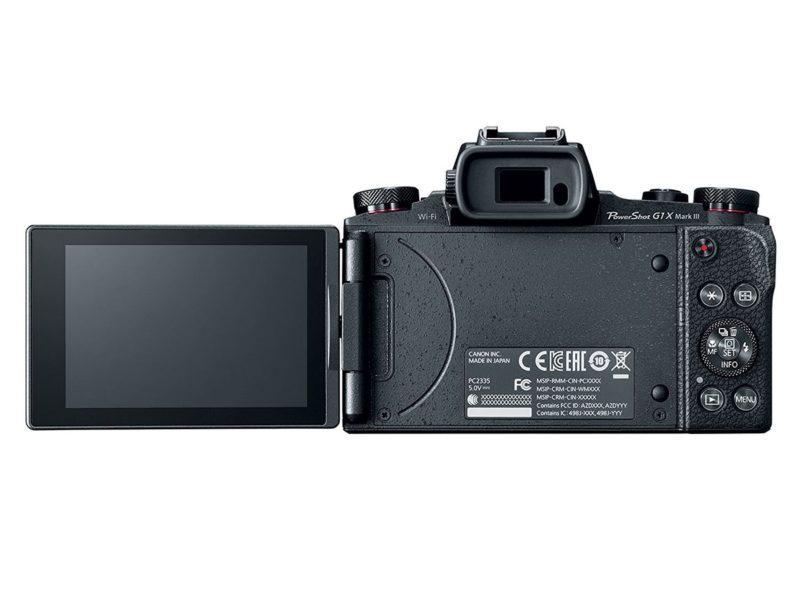 Canon Powershot G1 X Mark III (LCD Flip), Image Credit: Canon
