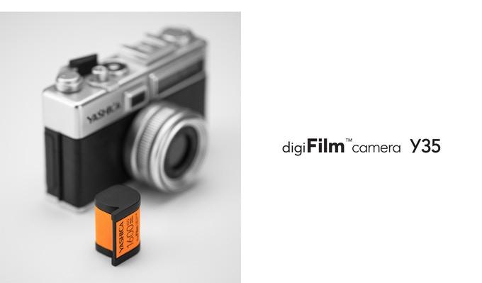 Kamera Yashica Y35 digiFilm