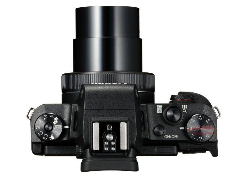 Canon G1 X Mark III (Atas)