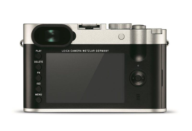 Kamera Leica Q Silver (Belakang), Image Credit: Leica