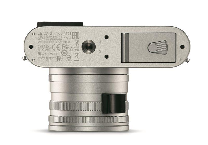 Kamera Leica Q Silver (Bawah), Image Credit: Leica