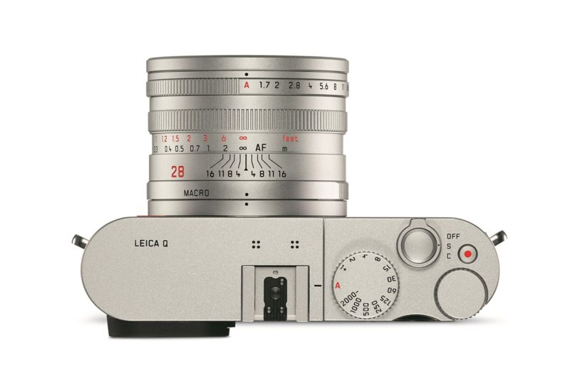Kamera Leica Q Silver (Atas), Image Credit: Leica