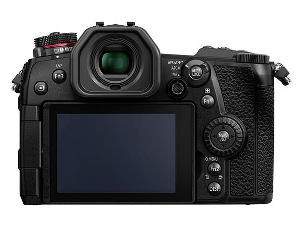 Kamera Panasonic G9 (LCD Belakang), Image Credit: Panasonic