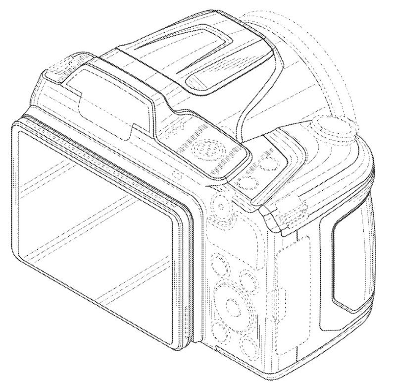 Paten Kamera Superzoom Nikon (Belakang)