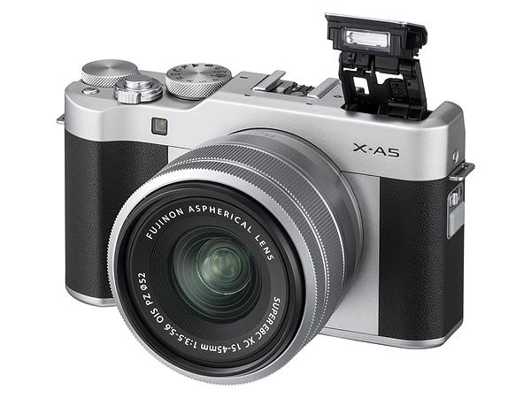 Kamera Mirrorless Fujifilm X-A5 (Hitam), Image Credit: Fujifilm