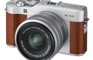 Kamera Mirrorless Fujifilm X-A5 (Coklat), Image Credit: Fujifilm